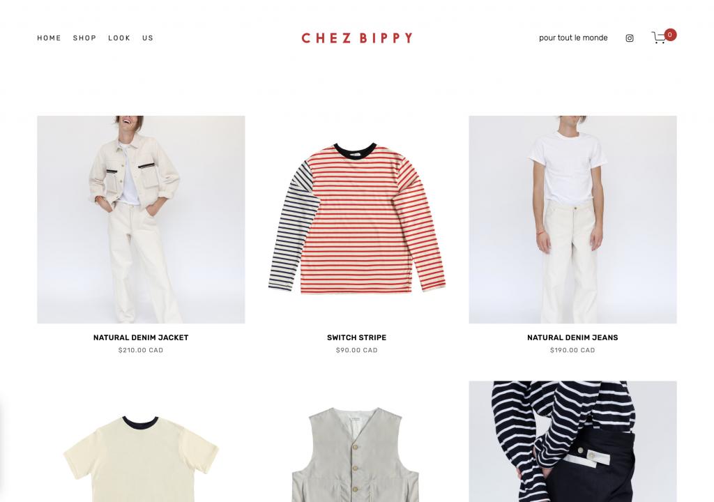 Chez Bippy Online Store